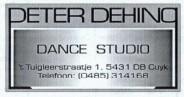 Dansstudio – Puiflijk – Peter Dehing Dance Studio